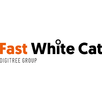 Fast White Cat