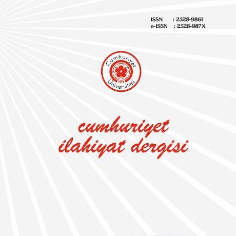 Cumhuriyet İlahiyat Dergisi = Cumhuriyet Theology Journal