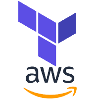 Terraform & AWS Logo