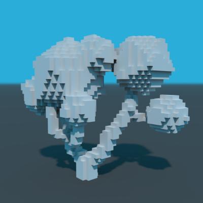 GitHub - maxorange/voxel-dcgan: A deep generative model of 3D