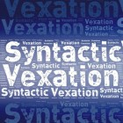 Syntactic Vexation